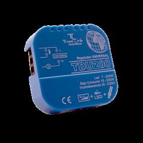 Reguladores de pastilla para lamparas led y para tiras de for Regulador para led