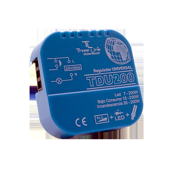 Regulador Para Led Universal Compatible Para Regulación Led 7 200w