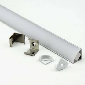 Perfil de aluminio 2 metros modelo LP1616 90º anodizado