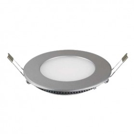 Downlight PLATA 7w led ultrafino empotrable 270 lumenes agujero 72mm