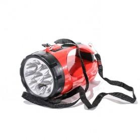 Linterna LED 700mAH hasta 200m 8 horas recargable (baterias incluidas)