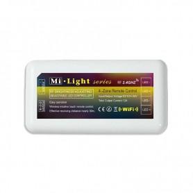 Controlador FUT035 Serie MI-Light monocolor DUAL RF hasta 4 zonas 12 / 24v