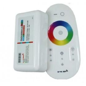 Controlador de radiofrecuencia RGBW 20 programas 6A por canal