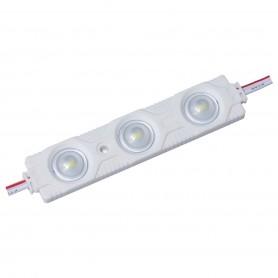 Modulo 3 LED SMD 5730 1,44w 160º BLANCO FRIO 6000k