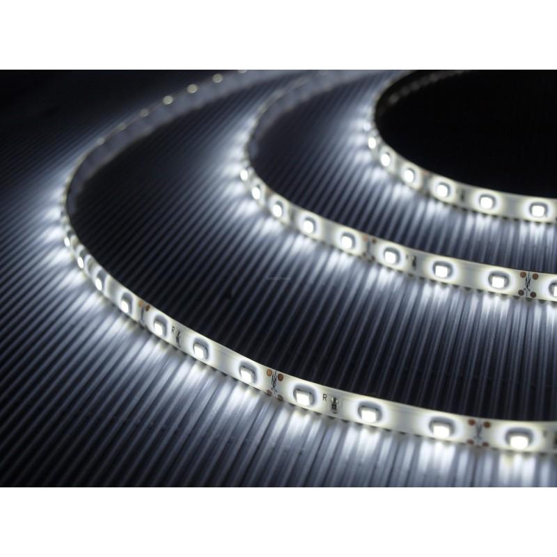 Tira de led a 24 V flexible de 5 metros SMD 5050 60 led / m Blanco Neutro 4000 - 4500 K protección IP65