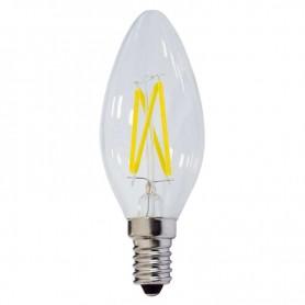 Bombilla Vintage tipo VELA E14 filamento 4w 230v