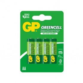 Pilas 1.5v Blister de 4 unidades AA GreenCell R6