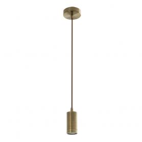 Colgante tipo Vintage 1 x E27 cobre antiguo