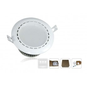 Downlight Dual Serie Mi-Light 12w Blanco frio / Calido 2.4G RF Wireless