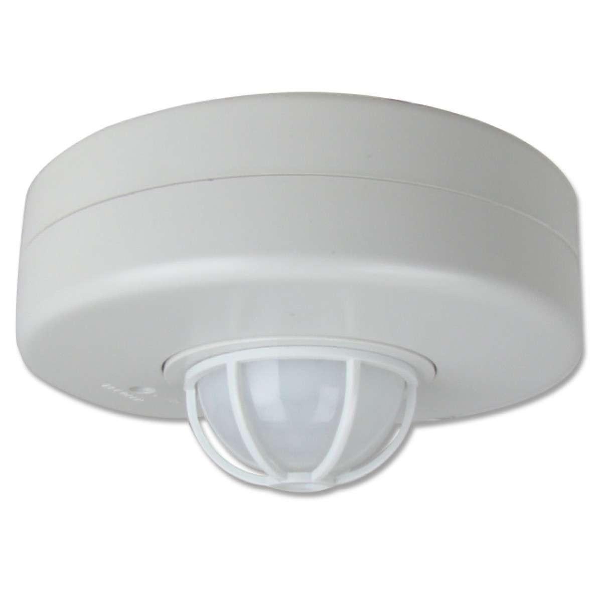 Sensor De Movimiento 3 Sensores 360 Grados 220 240v Regulable