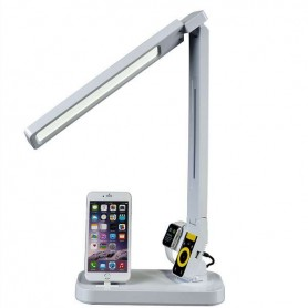 Flexo LED con cargador iPhone / iPad / iwatch / USB