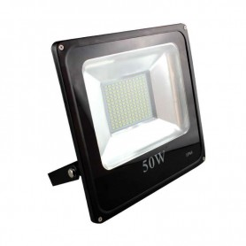 Foco Reflector Interior/Exterior Ultrafino Led 50w 12V/24V