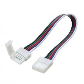 Conector+Cable con puntas presoldadas Tira de LED RGB 10mm