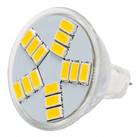 Lampara led tipo G4 MR11 2,5w 12v Blanco Frio / Cálido