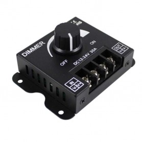 Regulador Dimmer electronico ALTA CALIDAD 12-24v hasta 30A