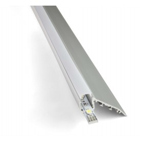 Perfil de aluminio Led para Escalones barra de 2 metros