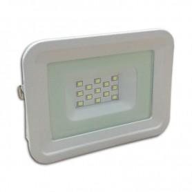 Foco tipo SLIM IP65 100º 10w 850 lm carcasa blanca