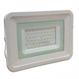 Foco tipo SLIM IP65 100º 50w 4200 lm carcasa blanca
