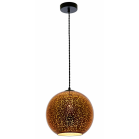Lampara efecto 3D modelo COPPER 300X275