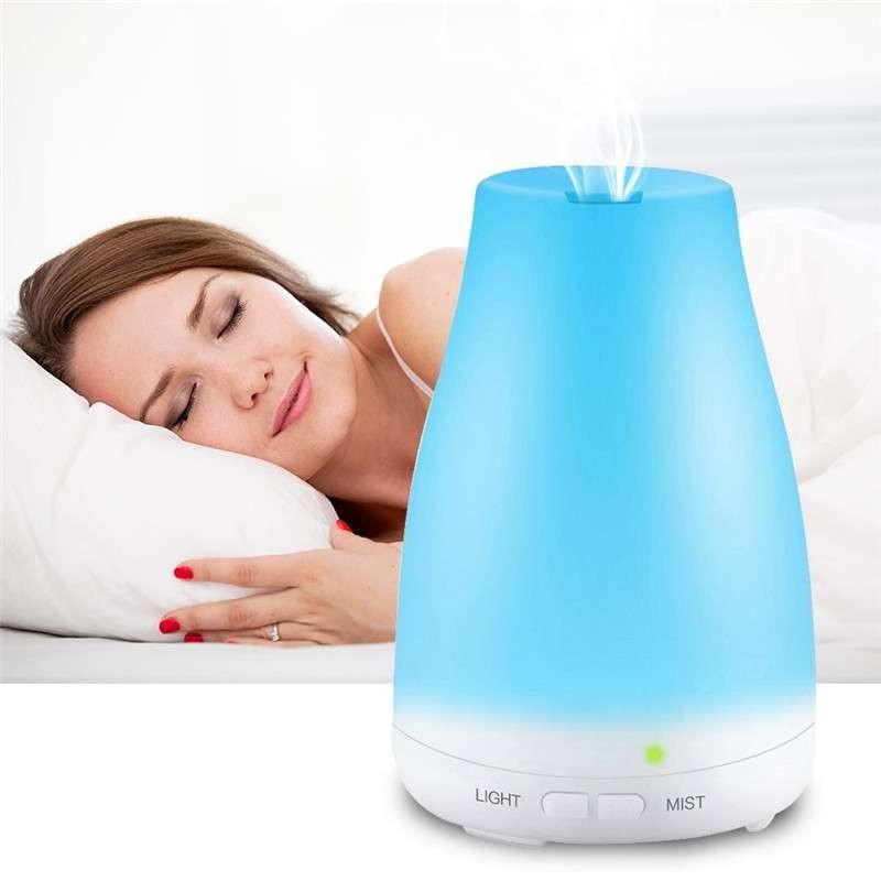 Humidificadór de aroma 7 luces luz RGB apagado automatico