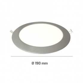 Downlight PLATA 16w led ultrafino empotrable 1350 lumenes