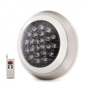 Foco de LED 24w para piscina montaje en superficie RGB con mando