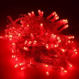 Guirnalda Navidad LED 10 metros 100 led color rosa