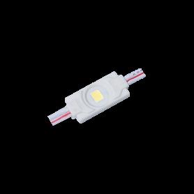 Modulo 1 LED SMD 2835 0.36w 120º BLANCO FRIO 6000k