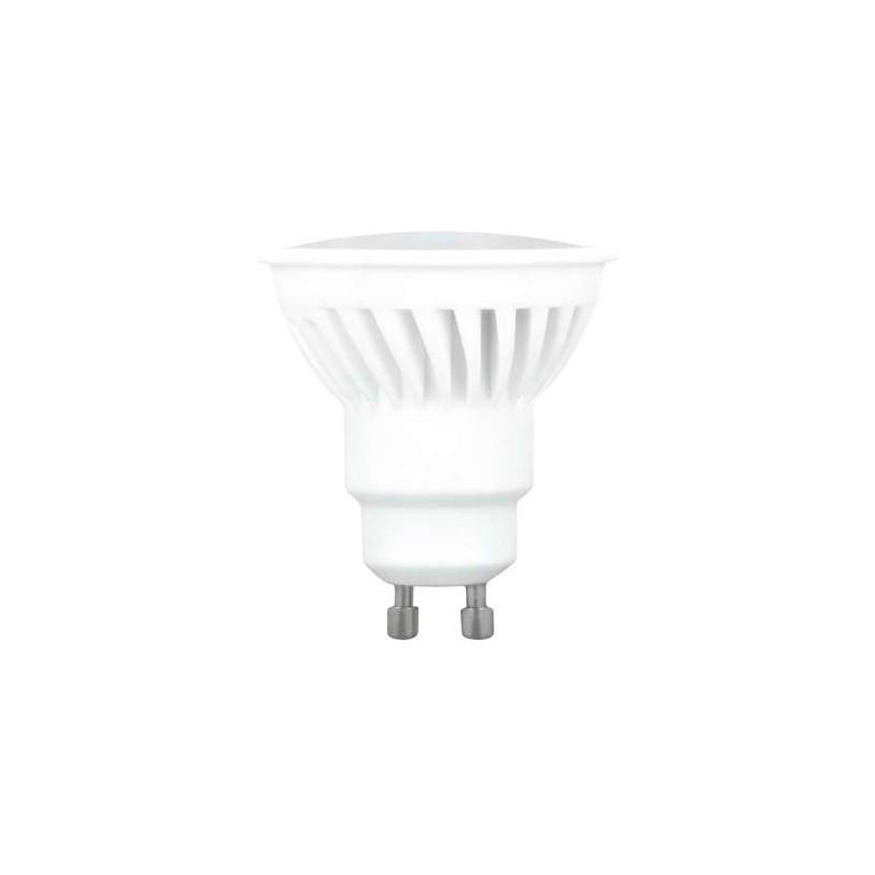 Lámpara LED GU10 SMD 10w 220v 120º ALTA LUMINOSIDAD CERAMICA