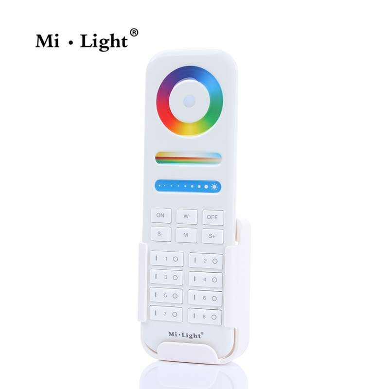 Mando a distancia RGBW + CCT hasta 8 zonas para serie Mi-Light