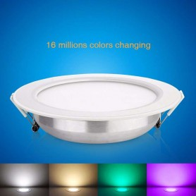 Downlight RGB+CCT Serie Mi-Light 12w 2.4G RF Wireless