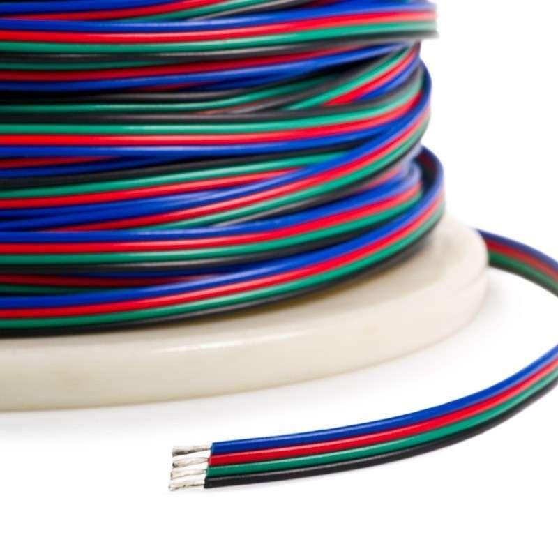 Cable para tiras de led RGB