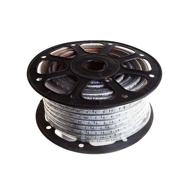 Tira de led 220VAC 5050 60 L/m ROLLO DE 50M IP65 RGB.