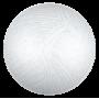 Plafon Redondo Cristal 30cm de diametro 2 x E27