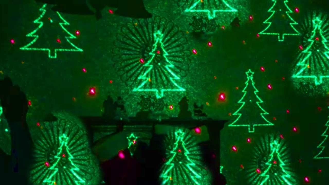 3cf46bdd47c Proyector Laser IP65 para exterior Rojo y Verde efecto Navidad