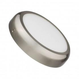 Downlight de superficie MODELO DESING Redondo 18w NIQUEL