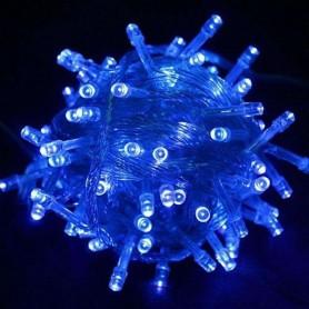 Guirnalda Navidad LED 10 metros 100 led color azul