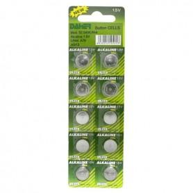 Pilas de botón ALCALINAS LR44 venta por unidad