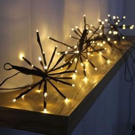 Iluminación decorativa tipo árbol, enchufe 220v Blanco calido