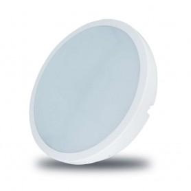 Plafón circular color blanco 18w luz neutra 4000k