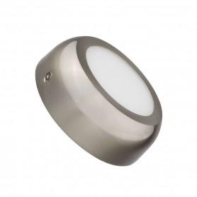 Downlight de superficie MODELO DESIGN Redondo 6w NIQUEL