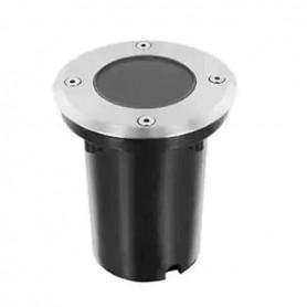 Foco empotrable GU10 suelo aluminio ip67 circular