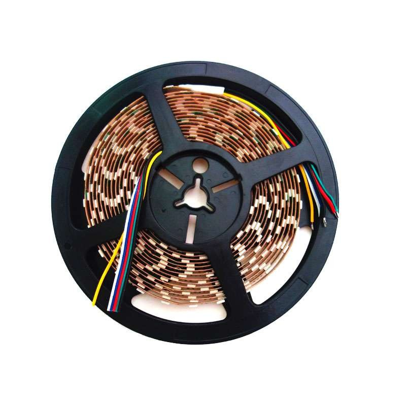 Tira de led flexible de 5 metros SMD 5050 60 led / m 5 en 1 RGB + CCT