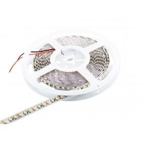 Tira de led a 24v flexible de 5 metros SMD 3528 120 led / m Blanco Frío 6000 / 6500 K sin protección al agua