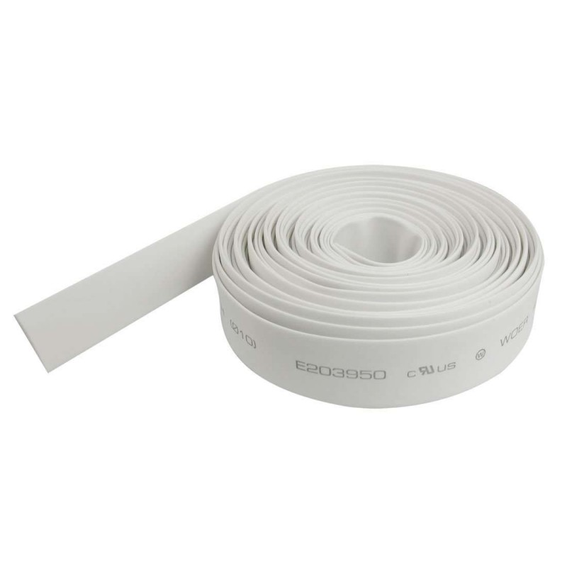 Funda termoretractil color blanca 1 metro 14mm