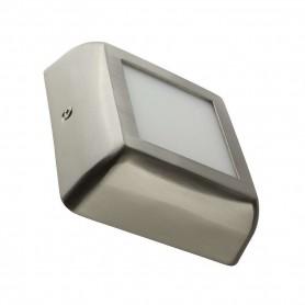 Downlight de superficie MODELO DESIGN cuadrado 6w NIQUEL