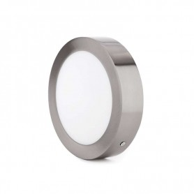 Downlight de superficie Redondo 12w NIQUEL