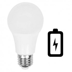 Bombilla LED emergencia 8w. Enciende cuando se va la luz