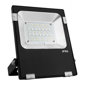 Foco Proyector RGB+CCT (Cambio de temperatura de color) Mi-light 50w LED Philips