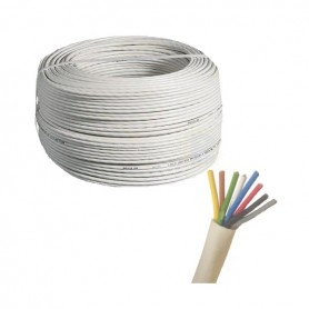 Cable 8 x 0,22mm x metro (8 cables de 0,22mm)